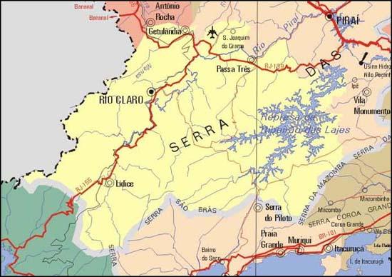 78efb83ac50 Geografia de Rio Claro RJ - Ache Tudo e Região